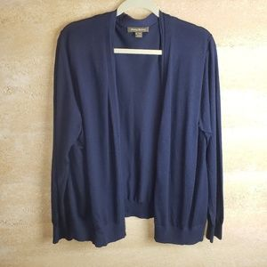 Tommy Bahama Cardigan Sz XL Navy